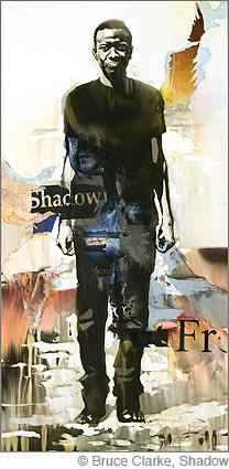 Bruce Clarke, Shadow